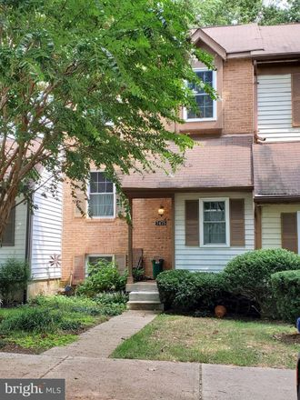 Rent this 4 bed townhouse on 7475 Swan Point Way in Owen Brown, MD 21045