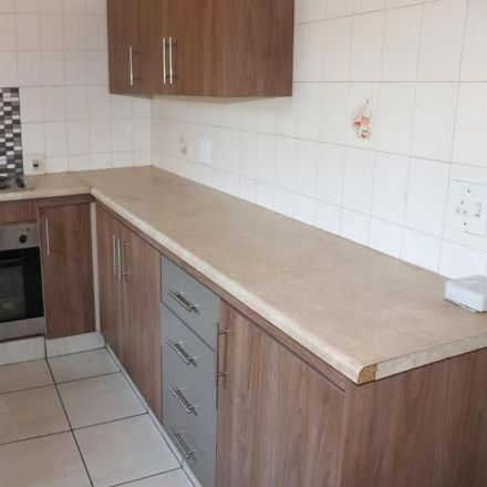 Rent this 2 bed townhouse on St. Dominic's Catholic Church in Trichardts Road, Ekurhuleni Ward 32