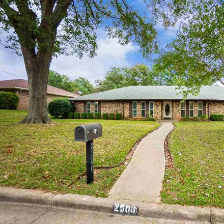 Rent this 4 bed house on 2500 Northridge Drive in Longview, TX 75605