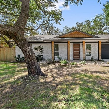 Rent this 4 bed house on 3207 Nancy Gale Drive in Austin, TX 78735