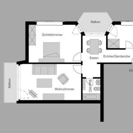 Rent this 4 bed apartment on Rankstrasse 1 in 8032 Zurich, Switzerland