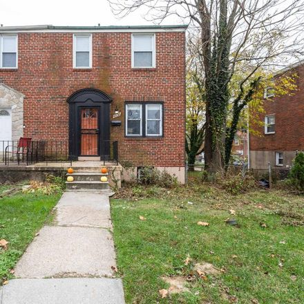Rent this 3 bed townhouse on 4935 Westhills Road in Baltimore, MD 21229