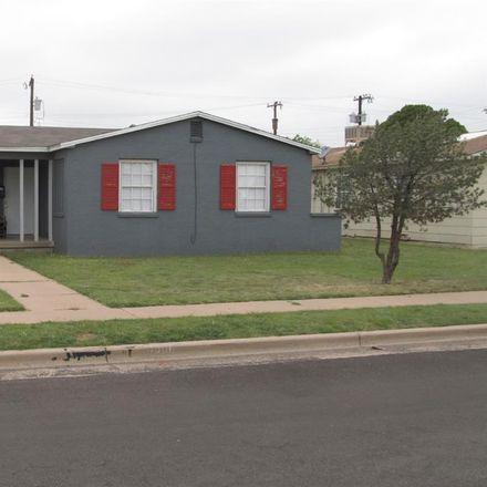 Rent this 2 bed duplex on 3506 Peoria Avenue in Lubbock, TX 79413