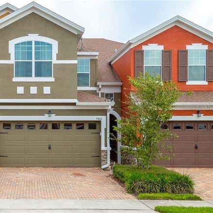 Rent this 3 bed townhouse on 9480 Tawnyberry Street in Orlando, FL 32832