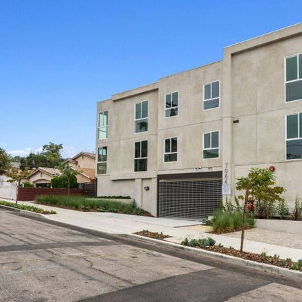 Rent this 3 bed condo on 7064 Greeley Street in Los Angeles, CA 91042