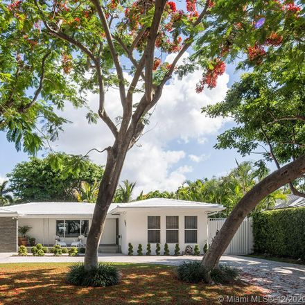 Rent this 4 bed house on 533 Northeast 52nd Terrace in Miami, FL 33137