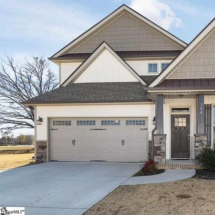 Rent this 3 bed house on 104 Hampton Farms Trail in Western Hills, SC 29617