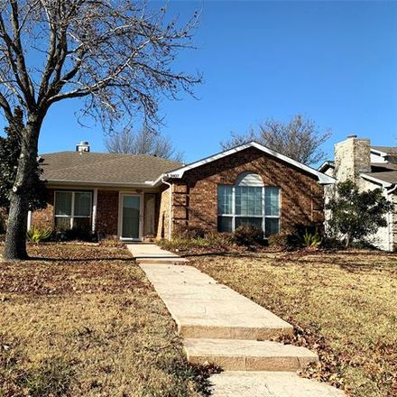 Rent this 4 bed house on 3407 Orchid Lane in Rowlett, TX 75089
