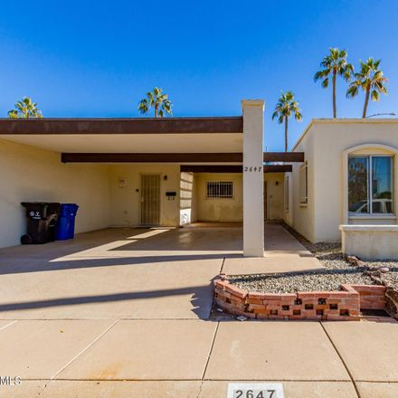 Rent this 3 bed townhouse on 2647 South Alder Drive in Tempe, AZ 85282