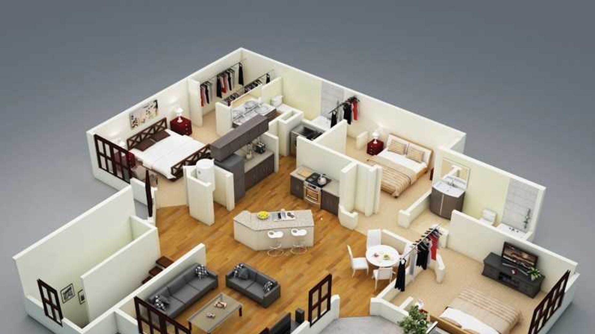 1 bed apartment at Lake Nona Central, Orlando, FL ...