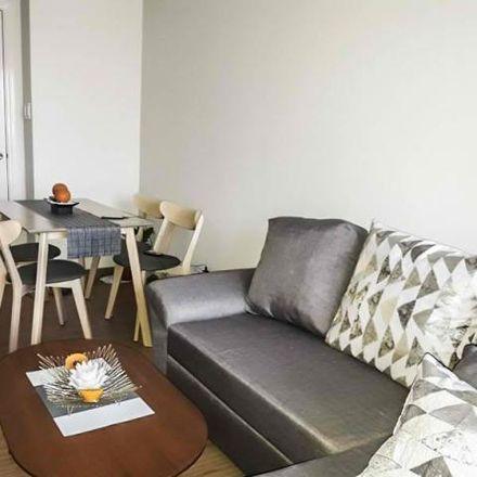 Rent this 1 bed condo on Grand SOHO Makati in 131 H.V. Dela Costa, Makati