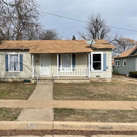 Rent this 2 bed house on 718 West Pecan Street in Coleman, TX 76834