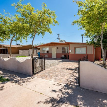 Rent this 3 bed house on 4247 West Portland Street in Phoenix, AZ 85009