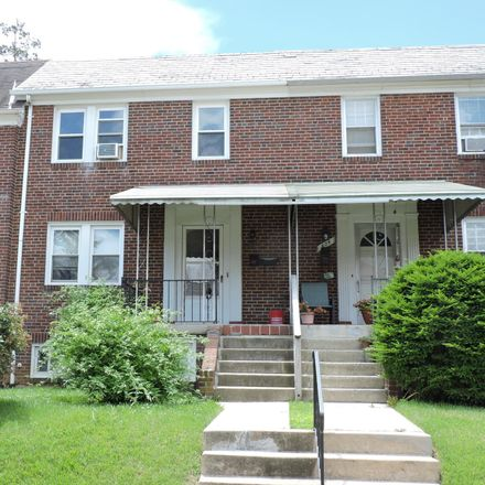 Rent this 1 bed townhouse on 402 Overbrook Road in Catonsville, MD 21228