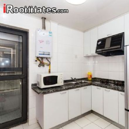 Rent this 2 bed apartment on Changde Road in Caojiadu, Putuo District
