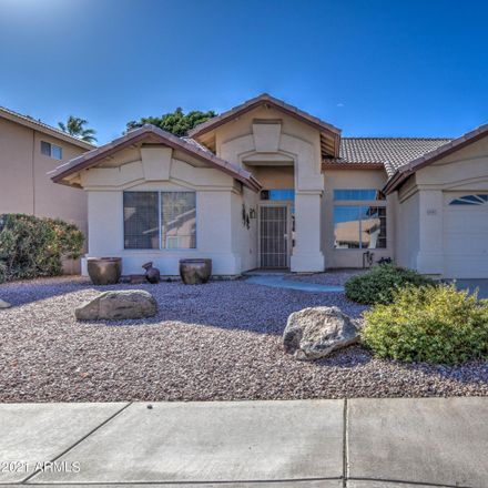 Rent this 3 bed house on 4881 West Geronimo Street in Chandler, AZ 85226