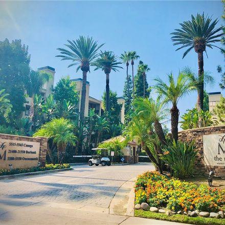 Rent this 2 bed condo on 21550 Burbank Boulevard in Los Angeles, CA 91367