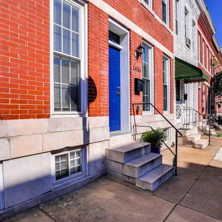 Rent this 2 bed townhouse on 1436 Marshall Street in Baltimore, MD 21230