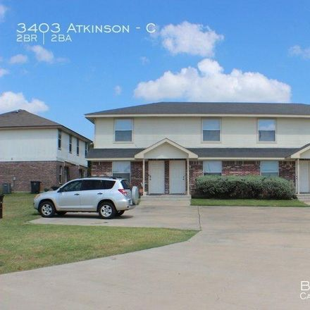 Rent this 2 bed townhouse on 3403 Atkinson Avenue in Killeen, TX 76543