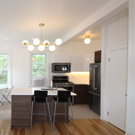 Rent this 3 bed apartment on Arlington Ave in Jersey City, NJ