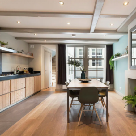 Rent this 5 bed apartment on Haarlemmerstraat 92-1 in 1013 EV Amsterdam, The Netherlands