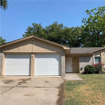 Rent this 3 bed house on 919 Lemontree Drive in Arlington, TX 76017