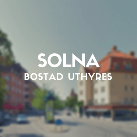 Rent this 2 bed apartment on Erik Sandbergs gata in 169 34 Solna kommun, Sweden