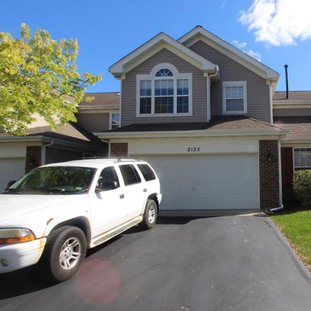 Rent this 2 bed townhouse on 2132 Peach Tree Lane in Algonquin, IL 60102