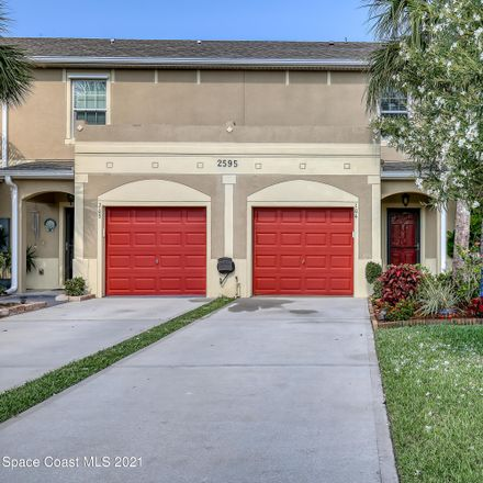 Rent this 3 bed townhouse on 2595 Revolution Street in Melbourne, FL 32935