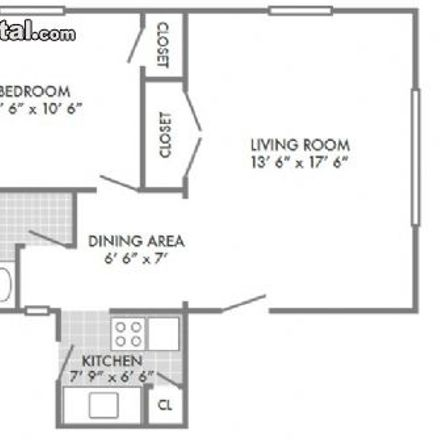 Rent this 1 bed apartment on 6340 Southwood Avenue in Clayton, MO 63105