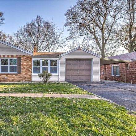 Rent this 2 bed house on 10218 Thorpe Avenue in Overland, MO 63114