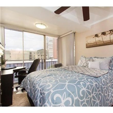 Rent this 1 bed condo on 1415 Victoria Street in Honolulu, HI 96822