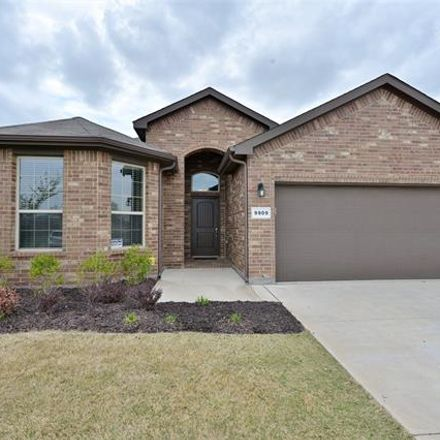 Rent this 4 bed house on 9909 Wynndel Trail in Fort Worth, TX 76177