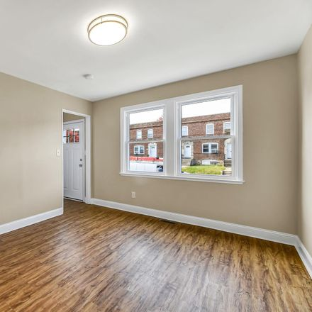 Rent this 4 bed townhouse on 1215 Steelton Avenue in Baltimore, MD 21224