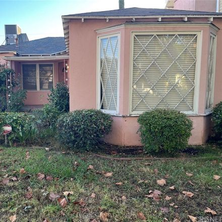 Rent this 3 bed house on Lennox Avenue in Los Angeles, CA 91423