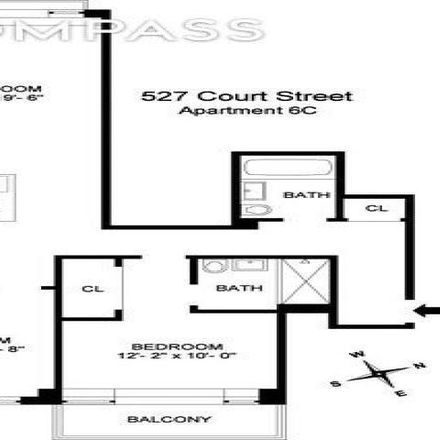 Rent this 2 bed condo on 529 Court Street in New York, NY 11231