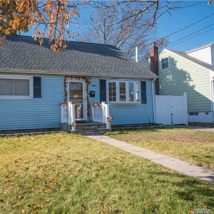 Rent this 3 bed house on 361 North Indiana Avenue in Lindenhurst, NY 11757