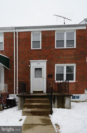 Rent this 3 bed townhouse on 162 Cherrydell Road in Catonsville, MD 21228