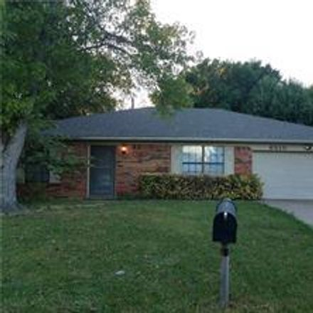 Rent this 3 bed house on 6310 Twin Maple Court in Arlington, TX 76018