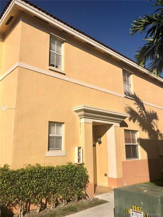 Rent this 4 bed townhouse on 8171 West 36th Avenue in Hialeah Gardens, FL 33018