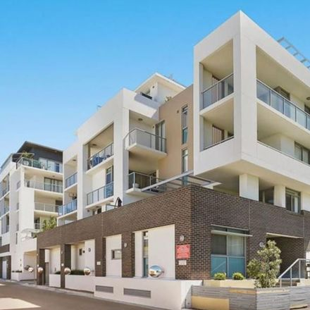 Rent this 1 bed apartment on 2204/43-45 Wilson Street