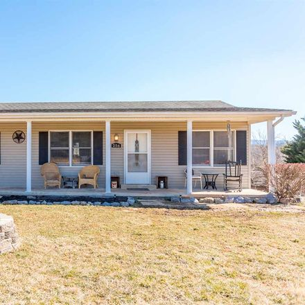 Rent this 3 bed house on 256 Airstrip Rd in Luray, VA