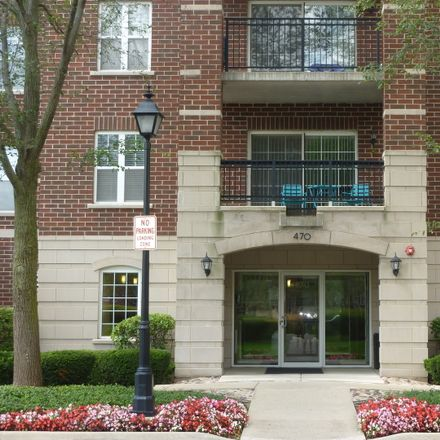 Rent this 2 bed townhouse on 470 West Mahogany Court in Palatine, IL 60067