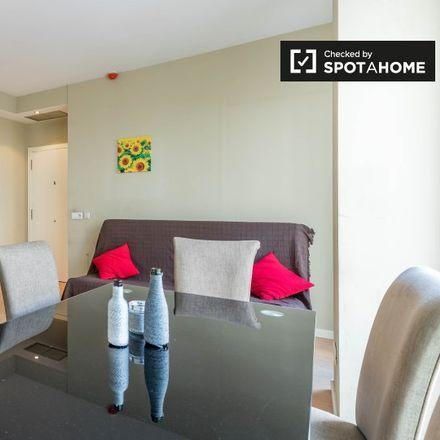 Rent this 1 bed apartment on Universidad Católica Valencia - Virgen de los Desamparados in Carrer d'Espartero, 46007 Valencia