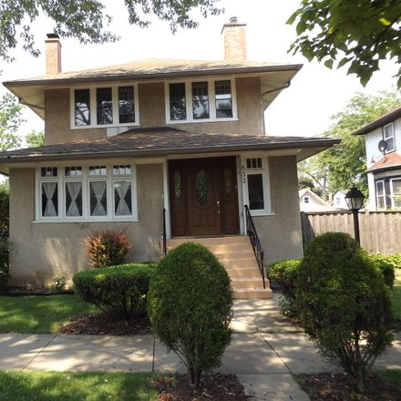 Rent this 4 bed house on 833 South Humphrey Avenue in Oak Park, IL 60304