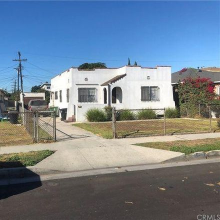 Rent this 2 bed house on 8721 South McKinley Place in Los Angeles, CA 90002