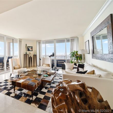 Rent this 3 bed condo on Two Tequesta Point in 808 Brickell Key Drive, Miami