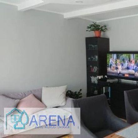 Rent this 3 bed apartment on Żłobek Miejski in Cypriana Kamila Norwida, 41-207 Sosnowiec