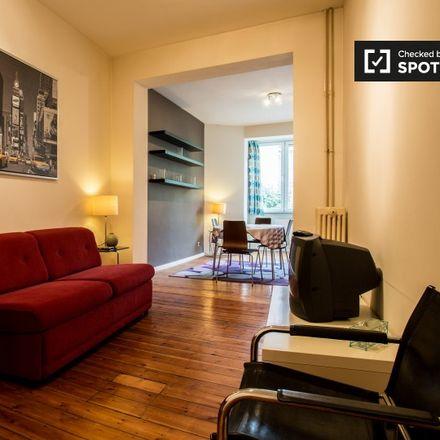 Rent this 1 bed apartment on Rue des Deux Églises - Tweekerkenstraat 116 in 1000 Saint-Josse-ten-Noode - Sint-Joost-ten-Node, Belgium