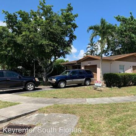 Rent this 3 bed apartment on 7181 Southwest 5th Street in North Lauderdale, FL 33068